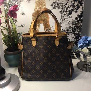 Authentic Louis Vuitton Batignolles Handbag Purse
